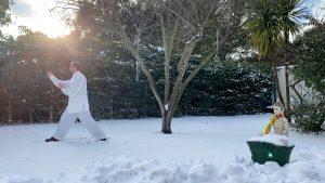 Tai Chi Chuan en la Nieve